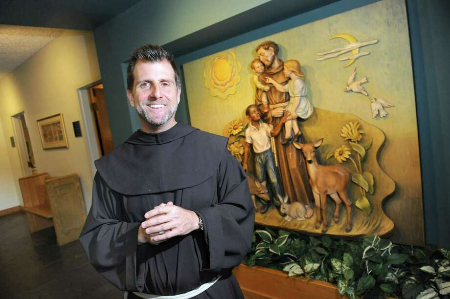 Father Sean O'Brien on Tuesday, Oct. 14, 2014, at Siena College in Loudonville, N.Y. (Cindy Schultz / Times Union) Photo: Cindy Schultz / 10029025A