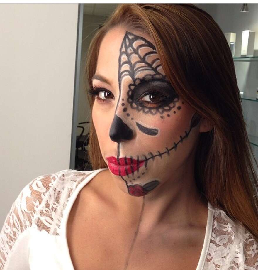 Do it yourself approach to spooky looks times union courtesy spa one day of the dead is a popular zombie look this halloween solutioingenieria Image collections