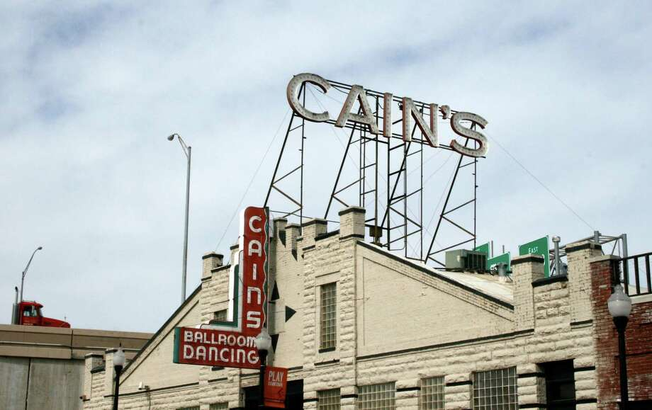 Built in 1924, live music venue Cain's Ballroom in Tulsa has been a garage, dime-a-dance joint and dance academy. Photo: Kristi Eaton, STR / AP