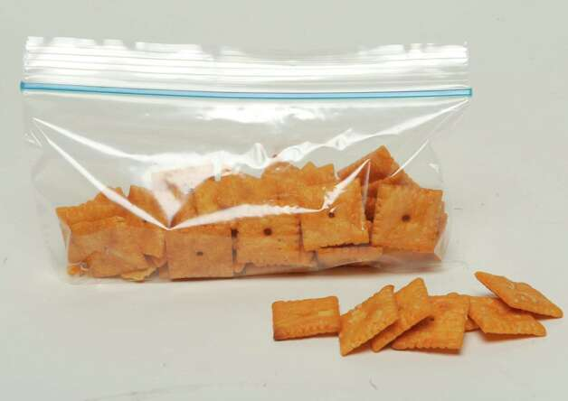 Cheez-It Crackers on Friday Oct. 3, 2014 in Colonie, N.Y.  (Michael P. Farrell/Times Union) Photo: Michael P. Farrell / 10028830A