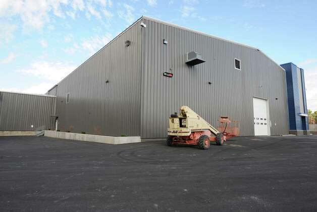 Exterior of the operations building at TCI of New York on Friday, Oct. 17, 2014 in Coeymans, N.Y. The electronics recycling company recently rebuilt and opened their new headquarters at Port of Coeymans. (Lori Van Buren / Times Union) Photo: Lori Van Buren / 10029071A