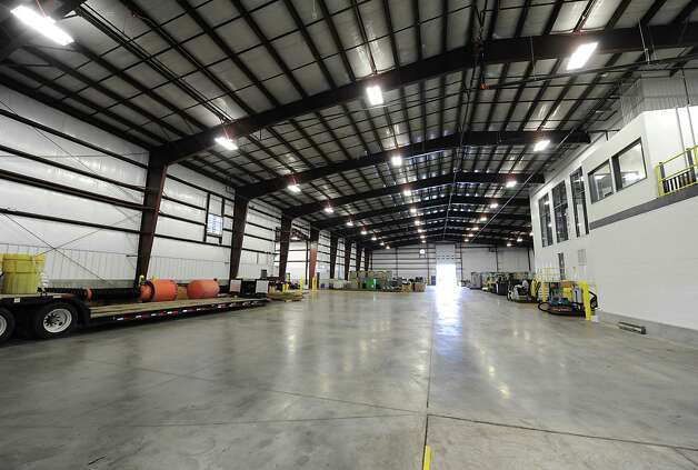Interior of the operations building at TCI of New York on Friday, Oct. 17, 2014 in Coeymans, N.Y. The electronics recycling company recently rebuilt and opened their new headquarters at Port of Coeymans. (Lori Van Buren / Times Union) Photo: Lori Van Buren / 10029071A