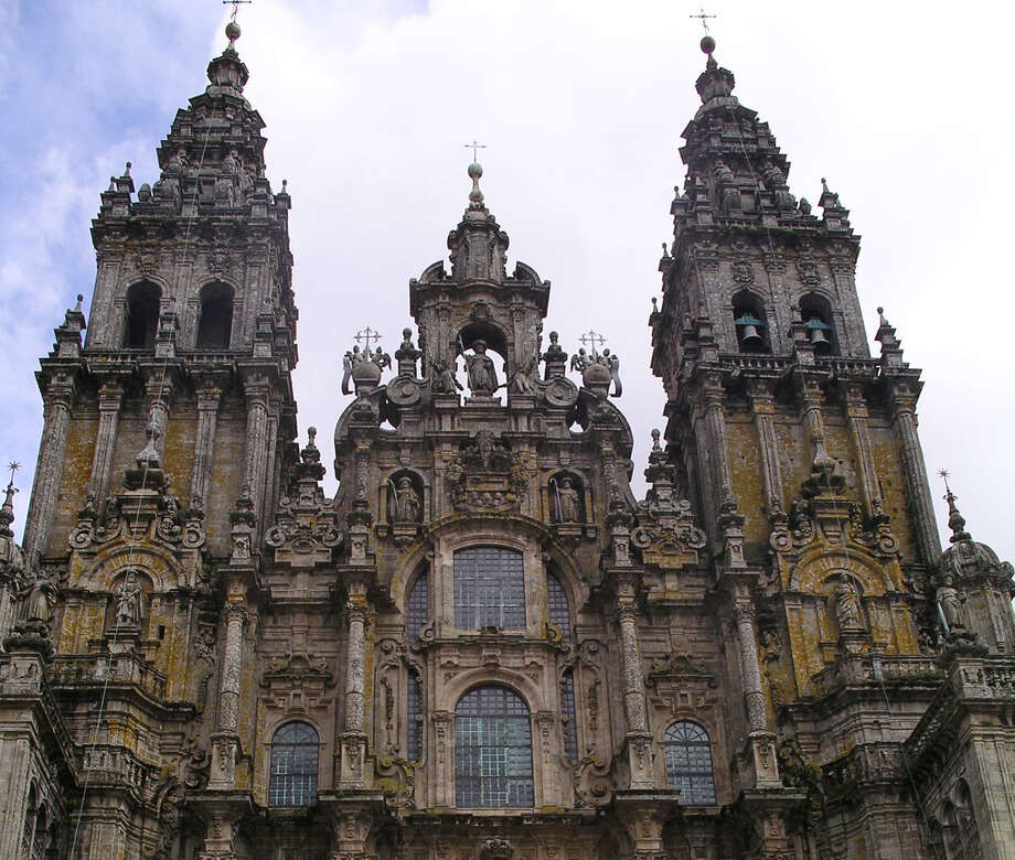 Santiago Cathedral, constructed  over the purported remains of St. James the Apostle, marks the last step for the Camino de Santiago. Photo: Express-News File Photo