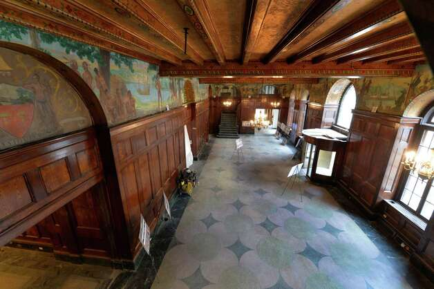 Interior view of the lobby of the Dewitt Clinton building which is being renovated by the Columbia Development Co. Friday morning, Oct. 17, 2014, in Albany, N.Y.       (Skip Dickstein/Times Union) Photo: SKIP DICKSTEIN / 10029066A