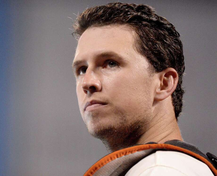 "San Francisco catcher Buster Posey said Kansas City is ""as hot as you can get"" going into the teams' World Series showdown. Photo: Harry How / Getty Images / 2014 Getty Images"