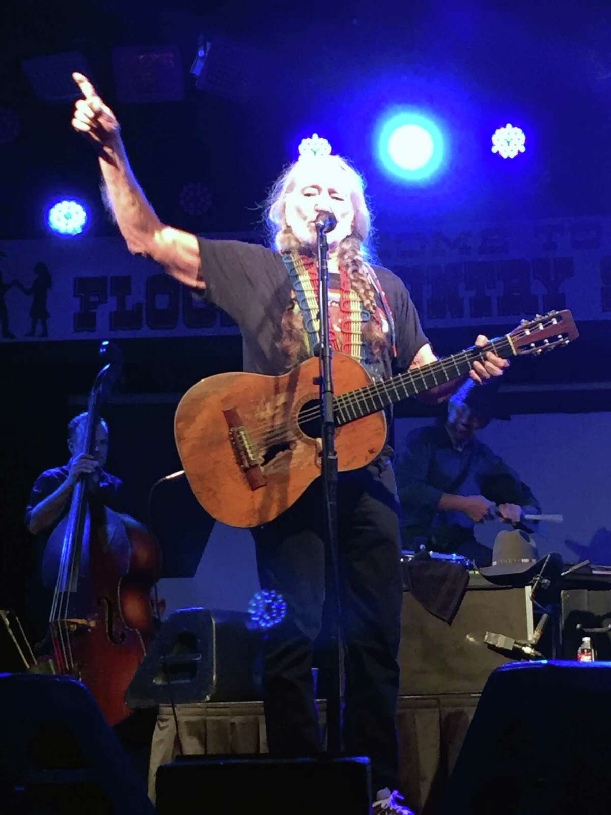 Nelson and his band played a sold-out show at John T. Floore Country Store, their favorite, most legendary honky tonks.
