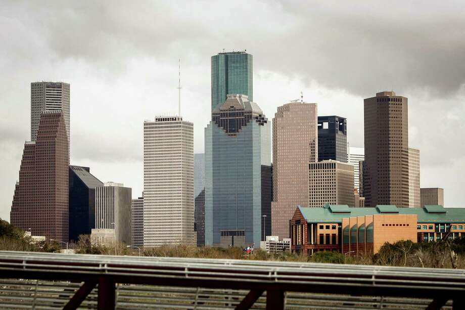 FIle Photo.  The downtown Houston Skyline from the Rosemont Bridge spanning over Buffalo Bayou, Monday, Jan. 30, 2012, in Houston.  ( Michael Paulsen / Houston Chronicle ) Photo: Michael Paulsen, Staff / © 2011 Houston Chronicle