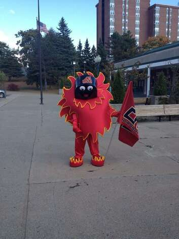 Scorch (From the Adirondack Flames via Twitter)