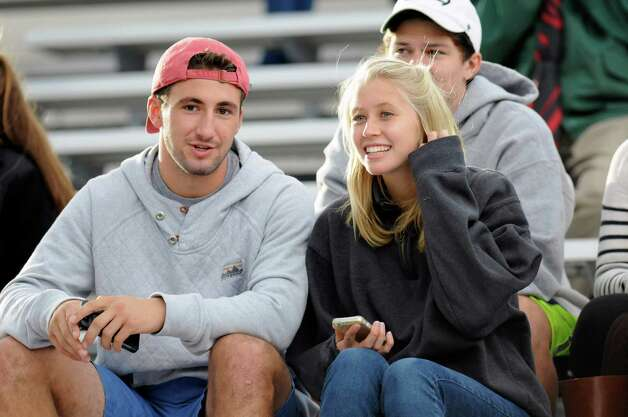Union fans watch Union play against Western New England during the first half of an NCAA college football on Saturday, Oct. 18, 2014, in Schenectady, N.Y. (Hans Pennink / Special to the Times Union) ORG XMIT: HP107 Photo: Hans Pennink / Hans Pennink