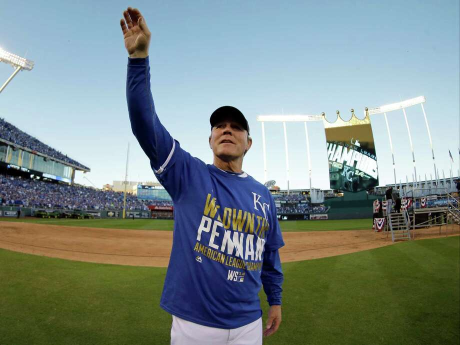 Royals manager Ned Yost and his players are the toast of Kansas City after sweeping Baltimore in the American League Championship Series and advancing to the World Series for the first time since 1985. Photo: Charlie Riedel, STF / AP
