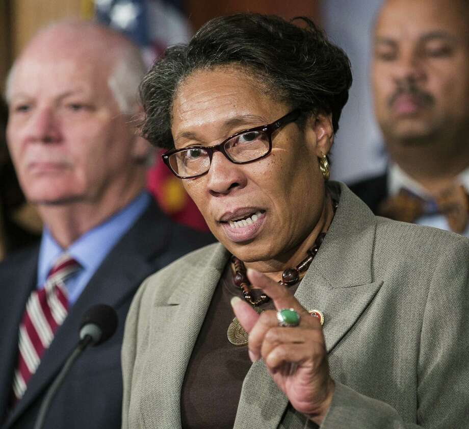 Rep. Marcia Fudge, D-Ohio, chairwoman of the Congress- ional Black Caucus, says if African-American and Latino voters don't turn out, Demo- crats won't hold the Senate. Photo: New York Times File Photo / NYTNS