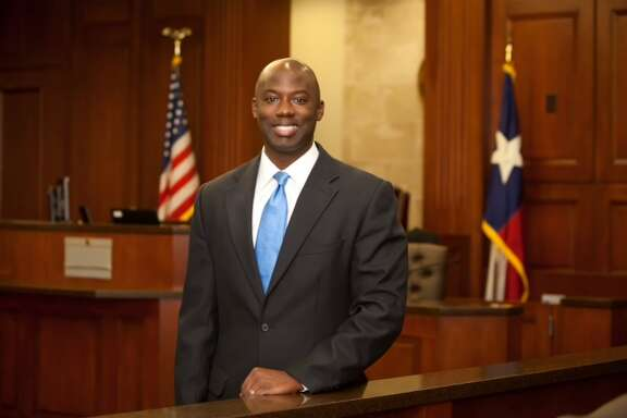 Wilvin J. Carter, the Democratic candidate for Fort Bend district attorney.