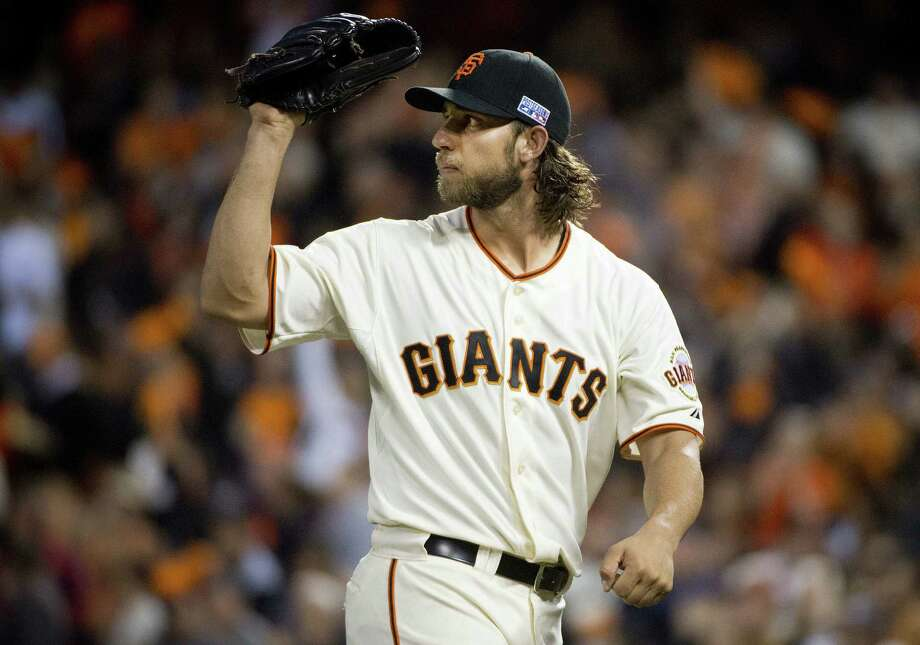 Left-hander Madison Bumgarner, the NL Championship Series MVP, will pitch another important opener for the Giants. Photo: Jose Luis Villegas / Sacramento Bee / Sacramento Bee