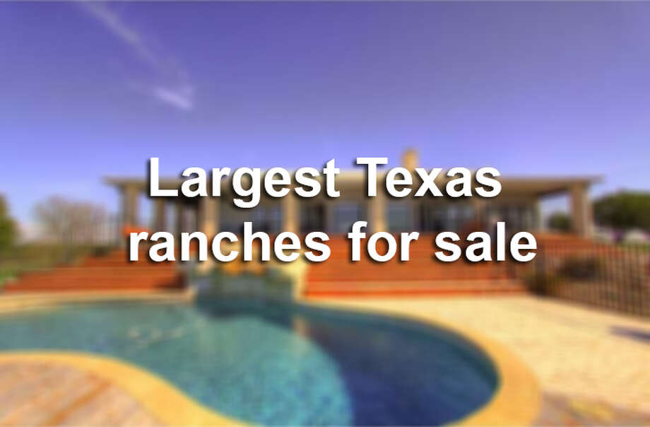 Largest Texas ranches for sale. Photo: Courtesy