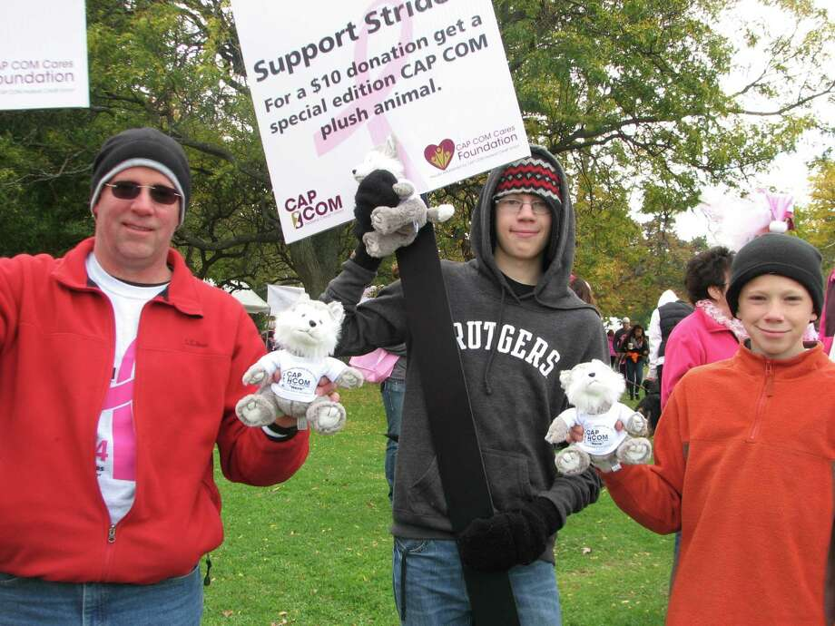 Were you Seen at the American Cancer Society's Making Strides Against Breast Cancer Walk in Albany's Washington Park on Sunday, Oct. 19, 2014? Photo: Diana Isaacson
