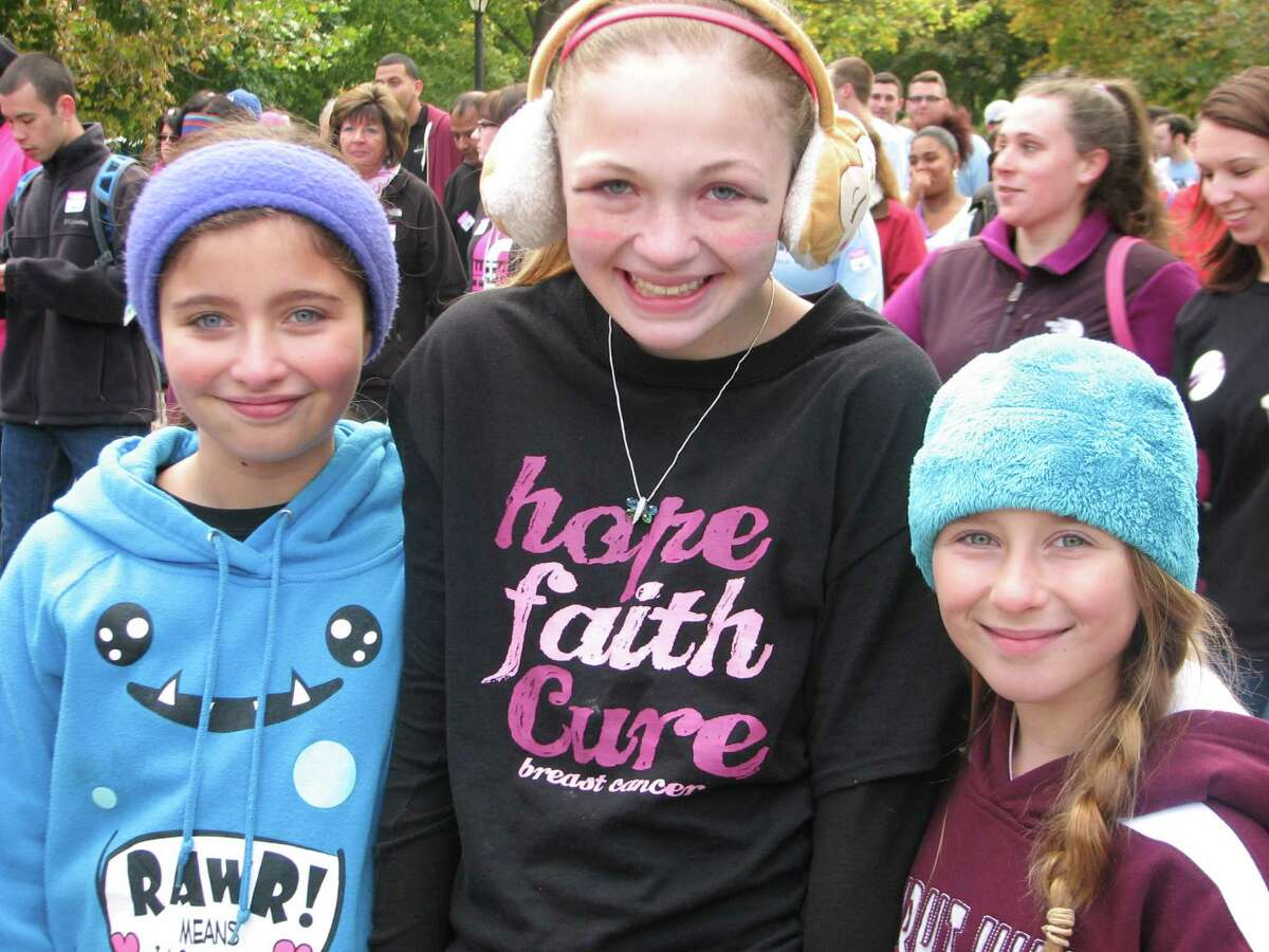 Were you Seen at the American Cancer Society's Making Strides Against Breast Cancer Walk in Albany's Washington Park on Sunday, Oct. 19, 2014?