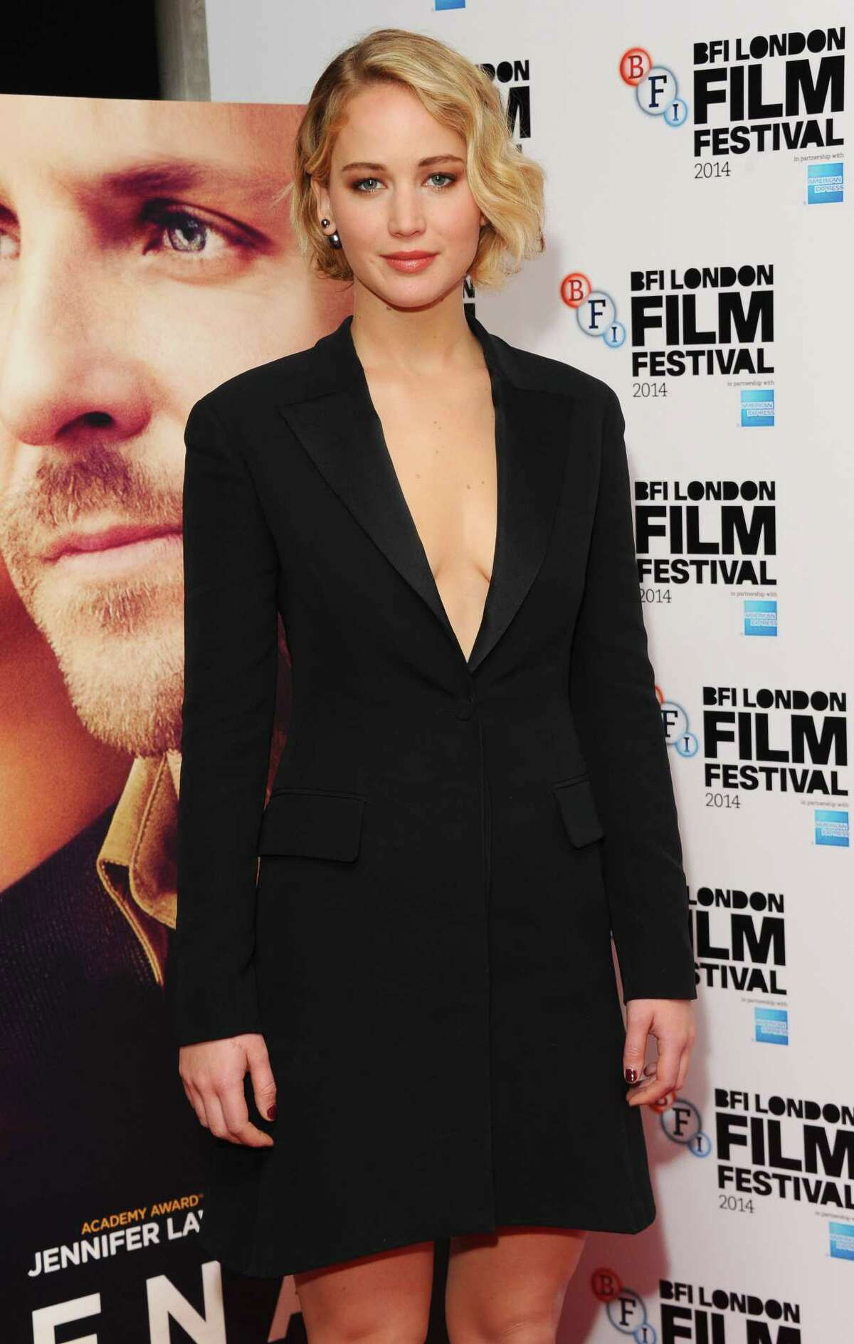 Jennifer Lawrence attends the premiere for