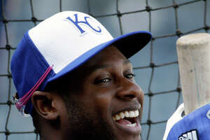 Best catch for new dad Lorenzo Cain might be one in the nursery - Photo
