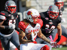 Images from Saturday's Southland Conference game between the Lamar Cardinals and the Nicholls State Colonels at Manning Field in Thibodaux. Jim Cenac/Correspondent