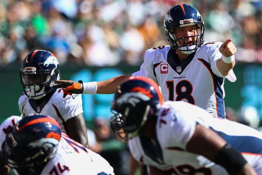 1. Denver Broncos Photo: Elsa, Getty Images