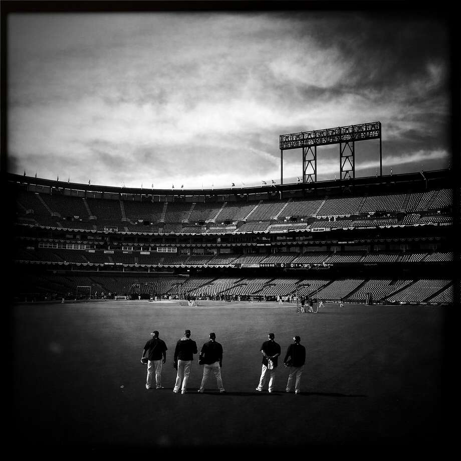San Francisco Giants against St. Louis Cardinals in Game 5 of NLCS at AT&T Park in San Francisco, Calif. on October 16, 2014. Photo: Scott Strazzante, The Chronicle