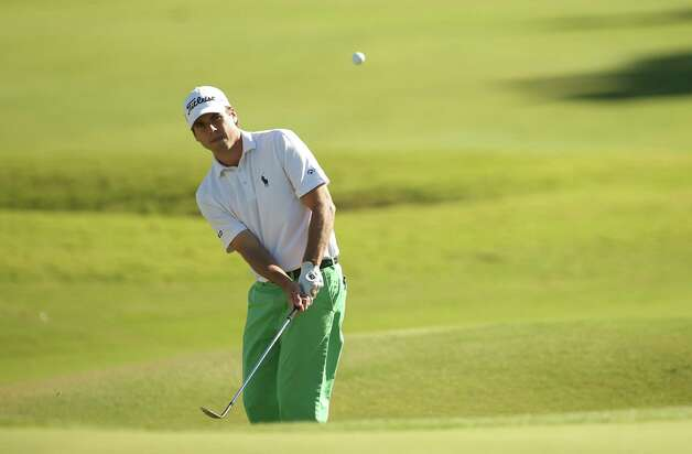 LAS VEGAS, NV - OCTOBER 19:  Ben Martin plays his third shot on the ninth hole during the final round of the Shriners Hospitals For Children Open at TPC Summerlin on October 19, 2014 in Las Vegas, Nevada.  (Photo by Darren Carroll/Getty Images) ORG XMIT: 507884871 Photo: Darren Carroll / 2014 Getty Images