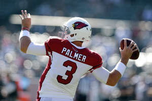 Ex-Raiders Palmer, Kelly, Veldheer enjoying life with Cardinals - Photo