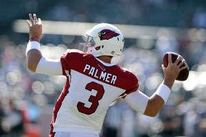 Ex-Raiders Palmer, Kelly, Veldheer enjoying life with Cardinals - Photo