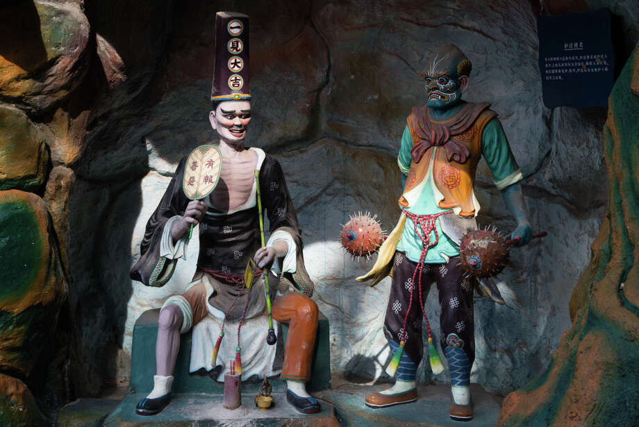 The Haw Par Villa, a one-of-a-kind theme park in Singapore dedicated to filial piety, was created in 1937 by the brothers behind the Tiger Balm empire.  Photo: John S Lander / LightRocket Via Getty Images / ONLINE_CHECK