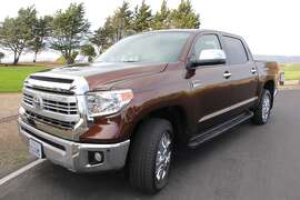 "The 2014 Toyota Tundra ""1794"" costs a bit over $48,000 in its Crewmax edition. (All photos by Michael Taylor.)"