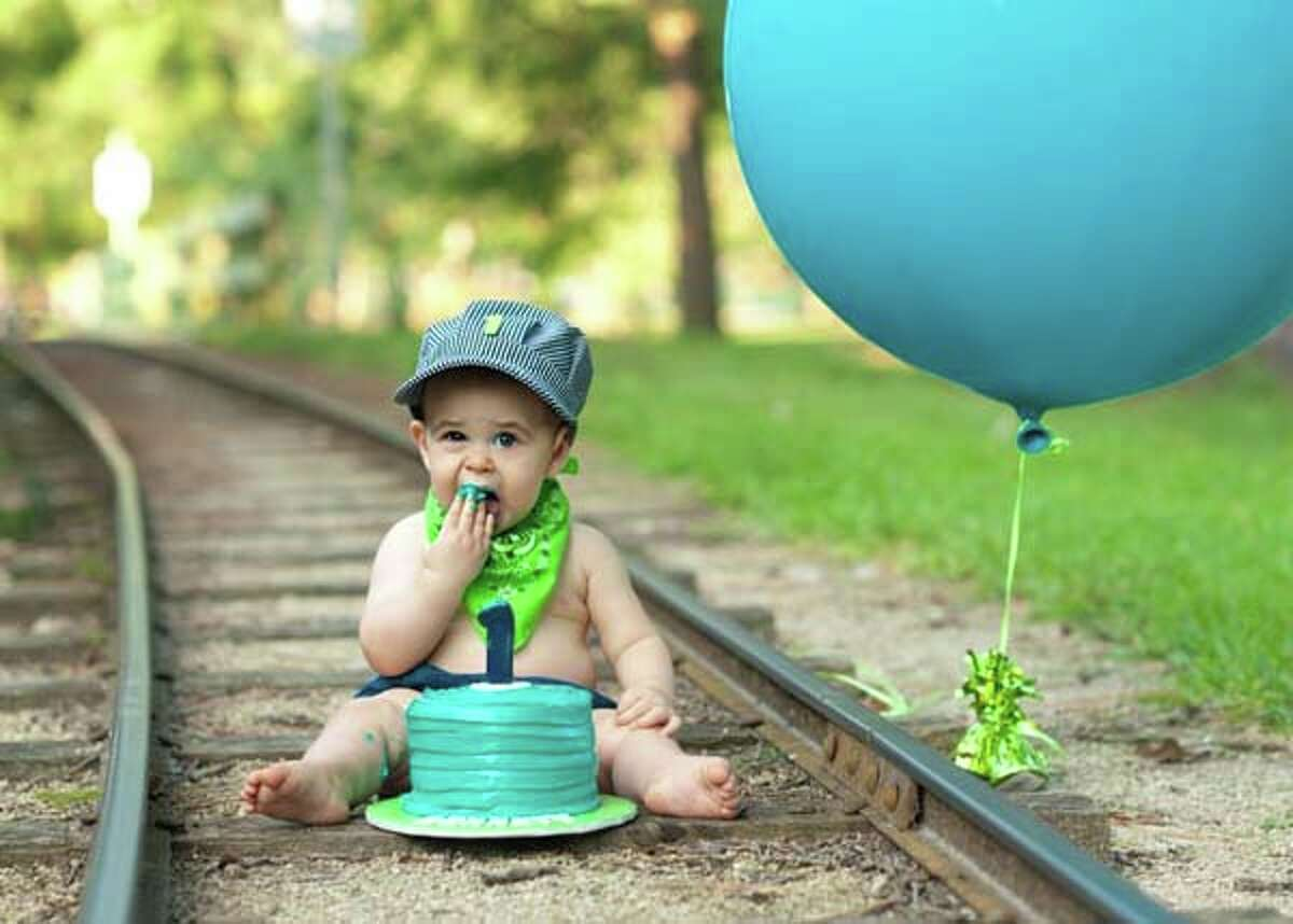 Readers are submitting their favorite Hermann Park photos for our contest in honor of the centennial. See below for the contest entry form. You could win a prize! My son's first birthday on the Hermann Park Railroad tracks. In memory of his grandpa, who loved the Hermann Park Train. Chris Kronzer