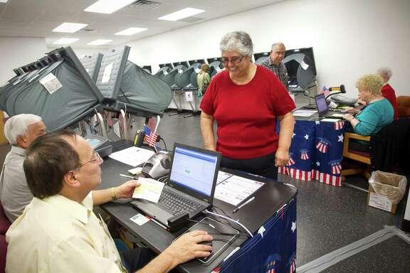 Today is Election Day. ( Marie D. De Jeséºs / Houston Chronicle )