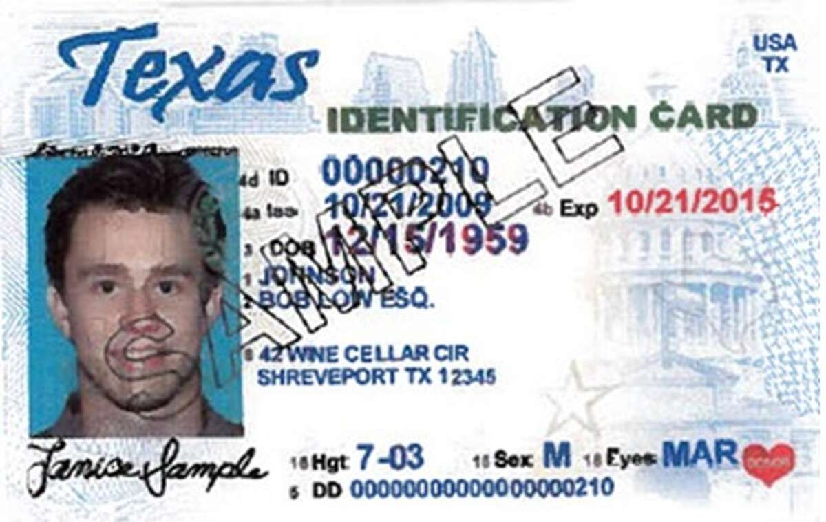 Texas personal identification card : Unexpired or expired no longer than 60 days at the time of voting. For more info go to votetexas.gov.