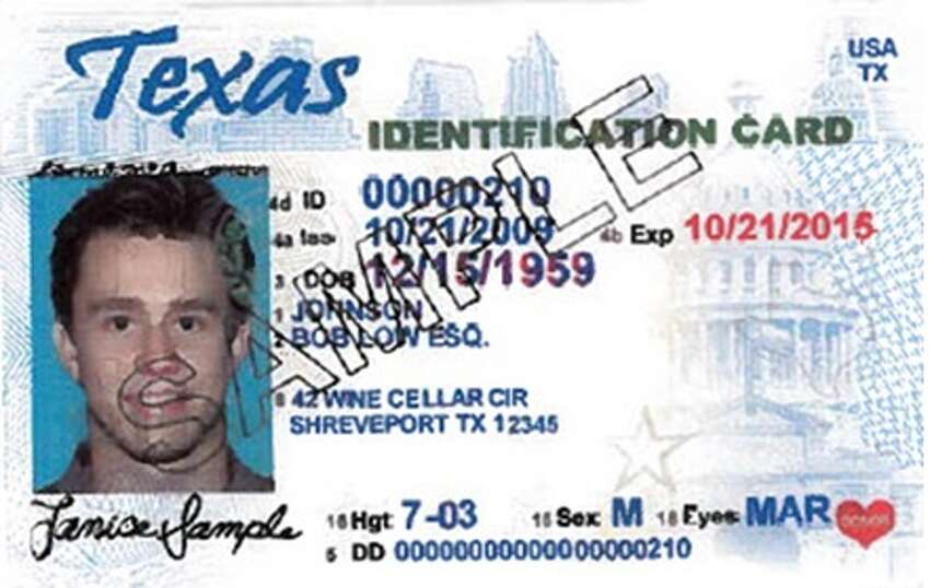 Texas personal identification card : Unexpired or expired no longer than 60 days at the time of voting. For more info go tovotetexas.gov.