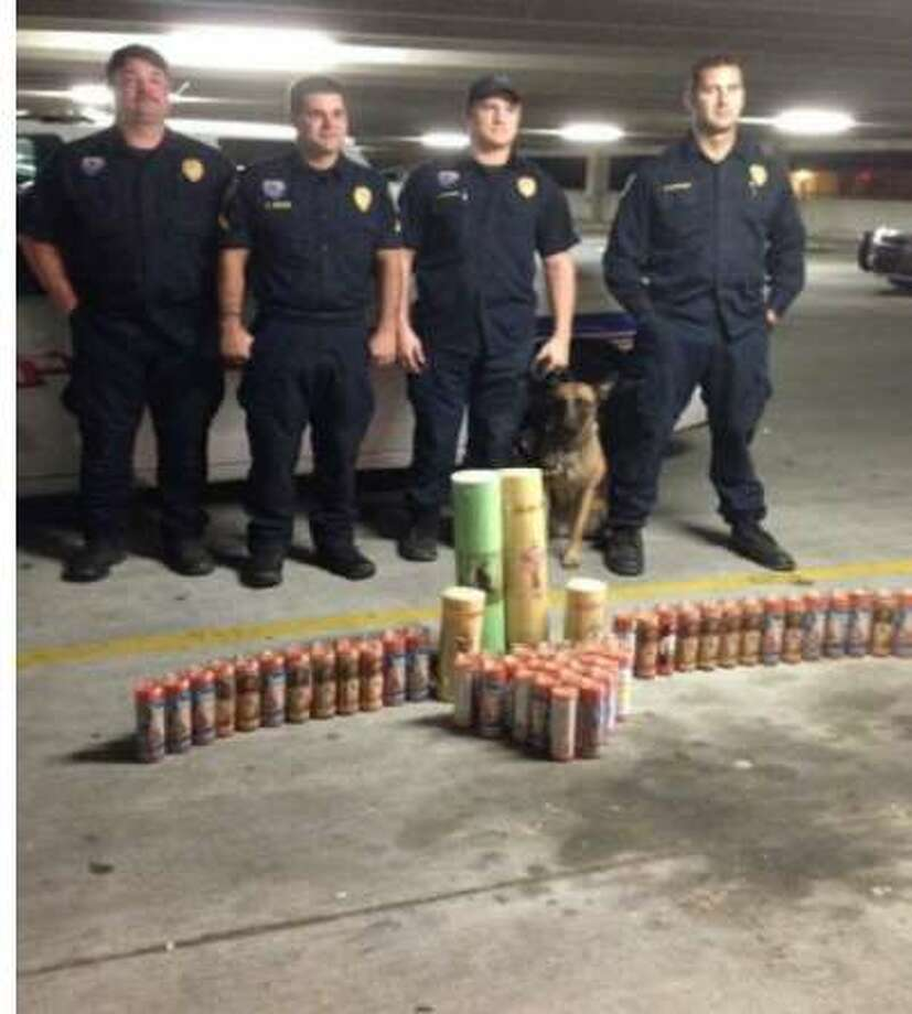 Baton Rouge police arrested a 19-year-old Texas man for smuggling methamphetamine mixed in with wax inside 48 candles depicting the Sacred Heart of Jesus Christ. Police arrested Jose Antonio Rodriguez-Lara of Houston while conducting a traffic stop of an El Expresso commercial passenger bus on Interstate 12 in Baton Rouge on Oct. 16, 2014, according to a news release. Photo: Baton Rouge Police Department