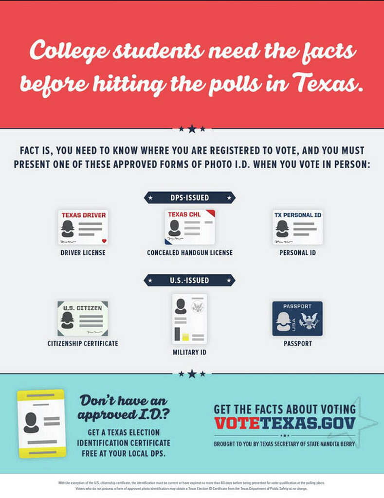 Court order relaxes voter id requirements san antonio express news infographic by votetexas provided by the texas secretary of stater more aiddatafo Gallery