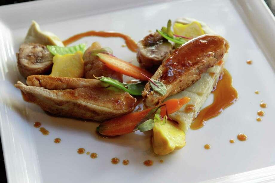 Pheasant at Radio Milano restaurant in the Hotel Sorella CityCentre. Photo: Melissa Phillip, Staff / © 2014  Houston Chronicle