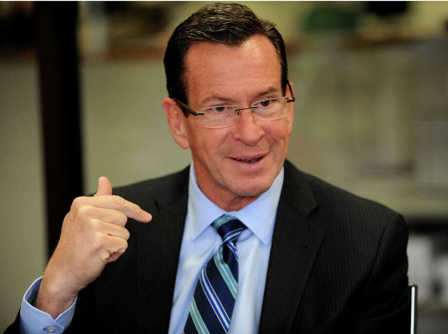 Gov. Dannel P. Malloy meets with the Hearst Connecticut Media editorial board on Monday, Oct. 20, 2014 in Bridgeport, Conn. Photo: Cathy Zuraw / Connecticut Post