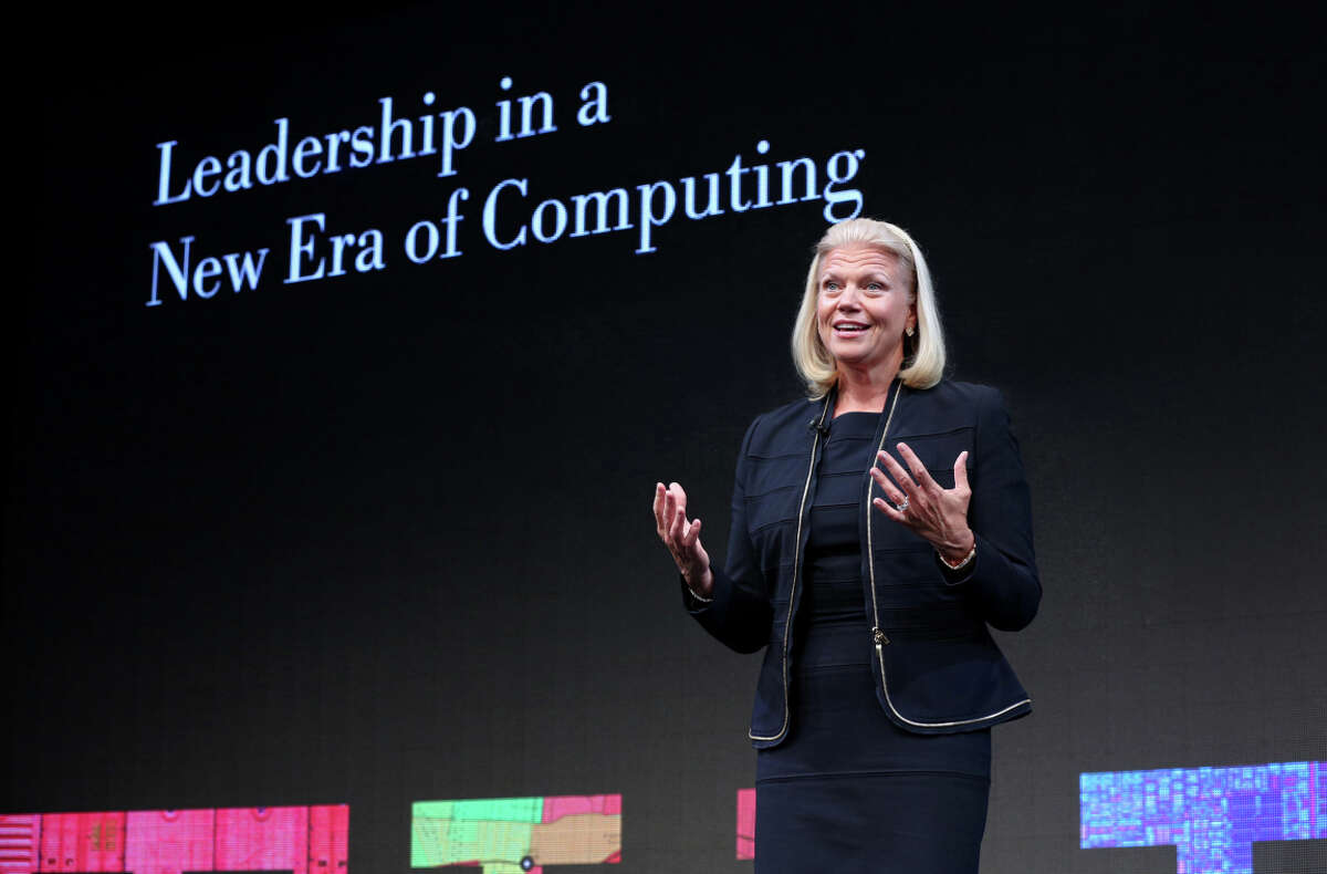 IBM CEO Ginni Rometty faced weaker-than-expected software sales and lower productivity in services in the third quarter.