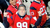 Texans fans invade Pittsburgh for 'Monday Night Football' - Photo