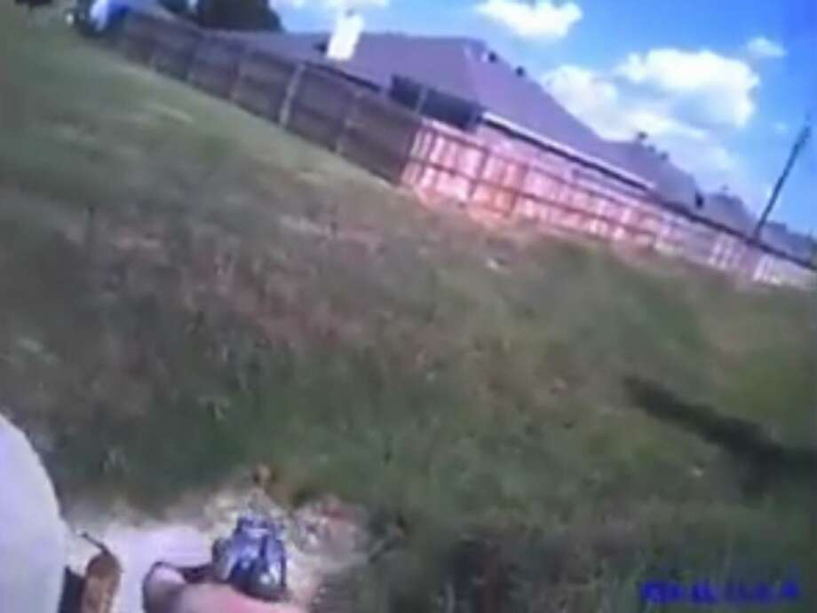 A video showing a Texas police officer shooting a dog has sparked online controversy and prompted an internal investigation. An officer for the Cleburne Police Department responded to a report of two pitbulls aggressively roaming an area neighborhood, WFAA reported. The officer, whose name has not been released, said in a police report that one dog charged at him, prompting him to fire three shots and kill the dog, according to CBS DFW. Photo: Cleburne Police Department