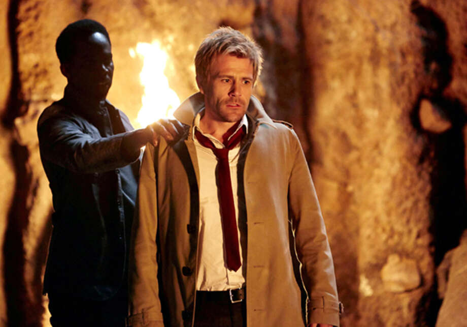 An otherworldly visitor has words with Constantine (Matt Ryan) in the show's premiere. Photo: Handout / McClatchy-Tribune News Service / MCT