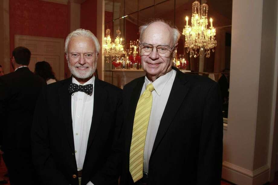 B. Martin Pedersen, left, and Dr. John Lienhard Photo: Gary Fountain, Freelance / Copyright 2014 by Gary Fountain