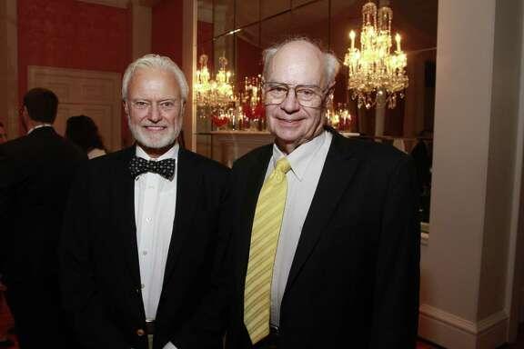 B. Martin Pedersen, left, and Dr. John Lienhard