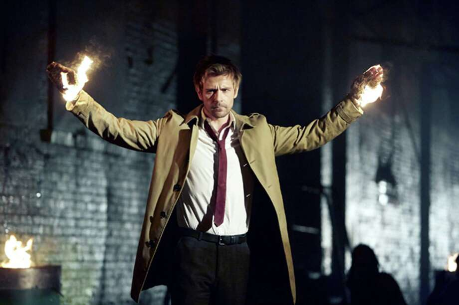 "Like in the comics, it appears Constantine's magic is minor, and his real ""powers"" are fast-talking and occult knowledge.  Photo: Handout, HO / MCT"