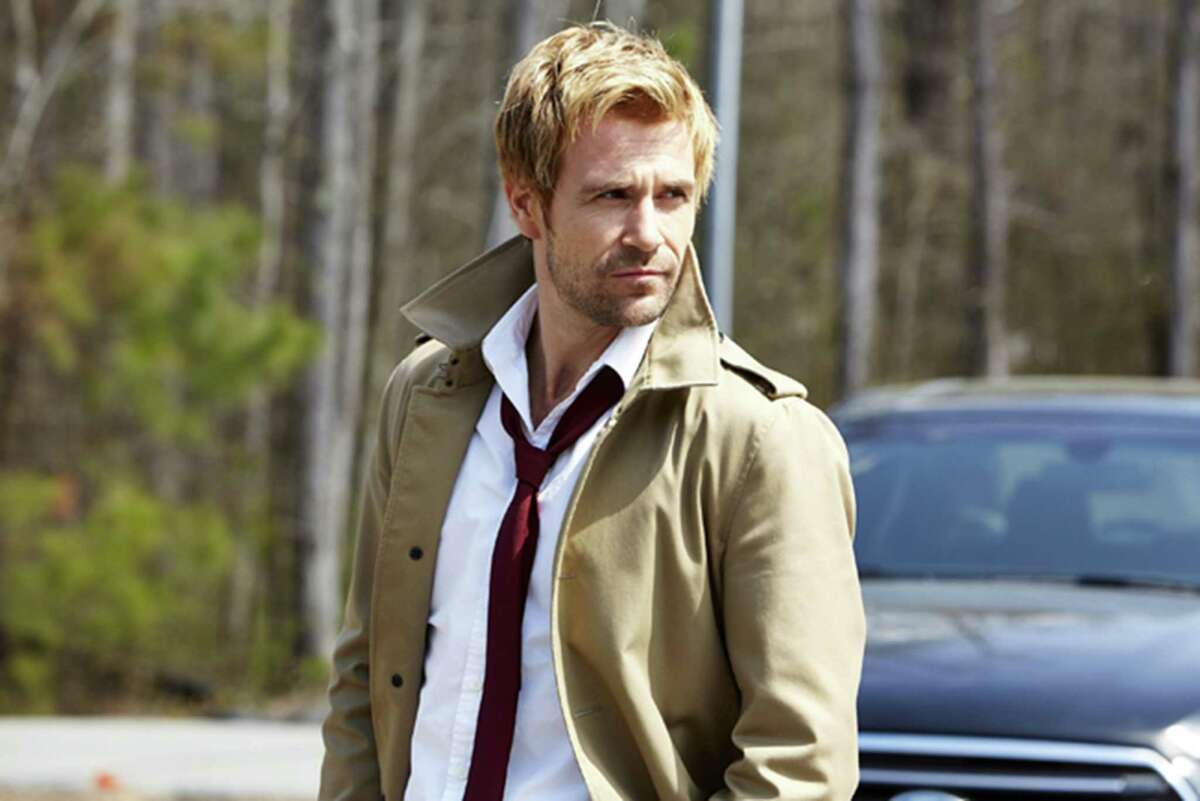 How Constantine behaves is up to the writers, but actor Matt Ryan certainly looks the part. (Quantrell Colbert/Warner Bros. Entertainment Inc./MCT)