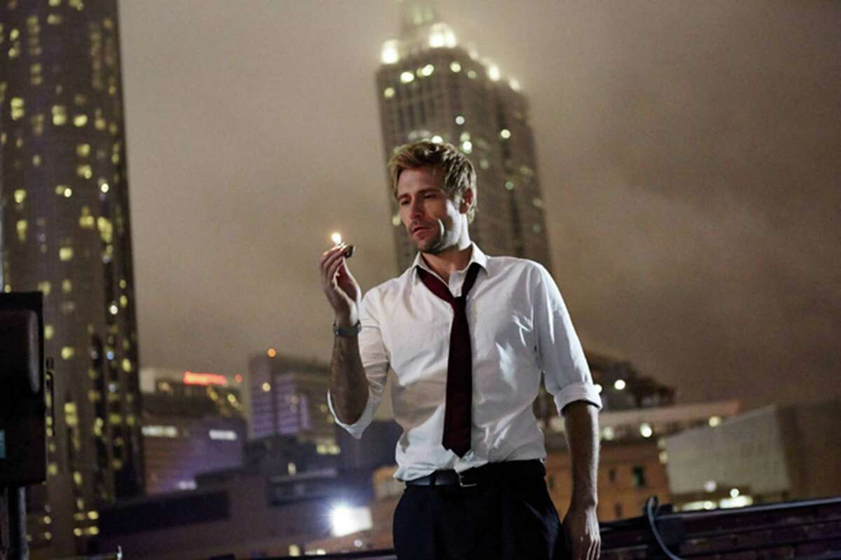 It appears Constantine won't be smoking as much on TV as he does in the comics, but he still has his Zippo. (Quantrell Colbert/Warner Bros. Entertainment Inc./MCT)