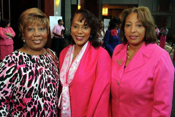Ida Ayala, from left, Cathy Cooper and Annette Hicks