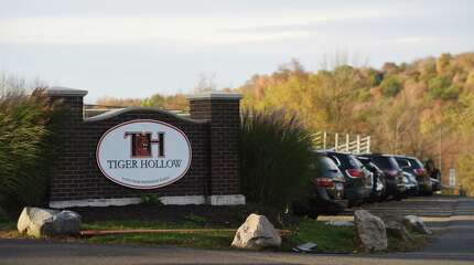 Tiger Hollow athletic complex at Ridgefield High School in Ridgefield, Conn. Monday, Oct. 20, 2014.