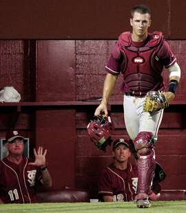 Posey won the Golden Spikes Award as college baseball's top player in 2008 after hitting .463 with 93 RBIs in 68 games as a Florida State junior.